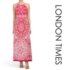 London Times Maxi dress NWT